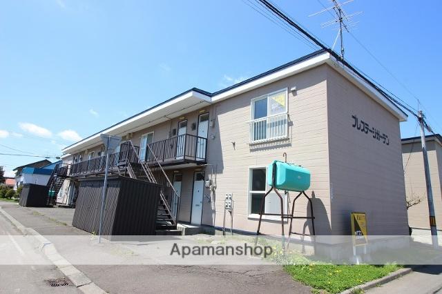 北海道恵庭市、恵庭駅徒歩12分の築30年 2階建の賃貸アパート