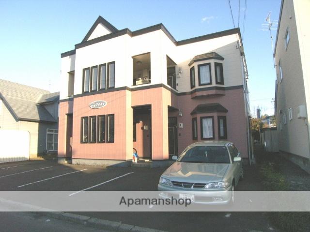 北海道恵庭市、恵庭駅徒歩20分の築20年 2階建の賃貸アパート