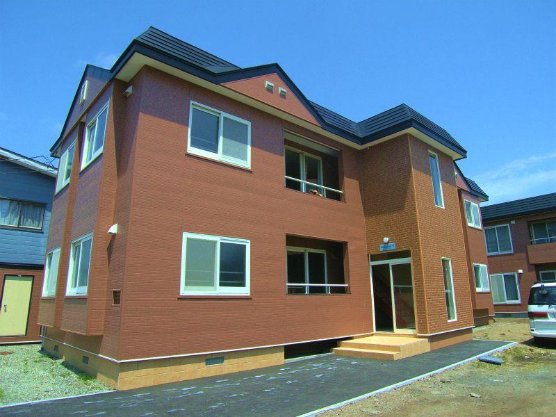 北海道恵庭市、恵庭駅徒歩18分の築27年 2階建の賃貸アパート