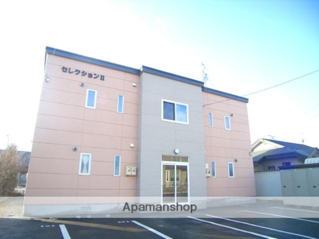 北海道夕張郡長沼町の築10年 2階建の賃貸アパート