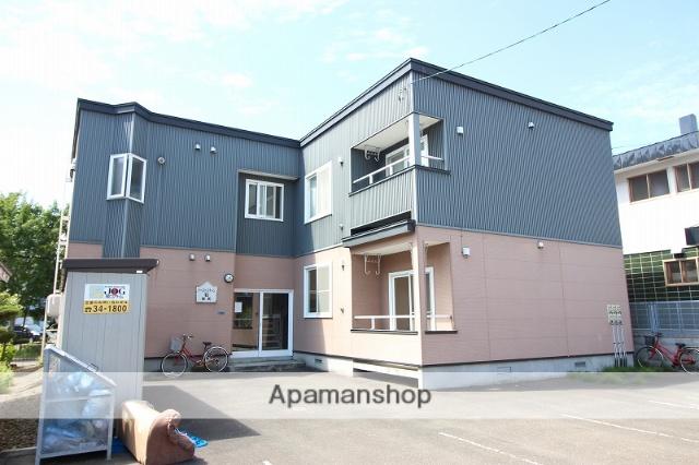 北海道恵庭市、恵庭駅徒歩16分の築14年 2階建の賃貸アパート