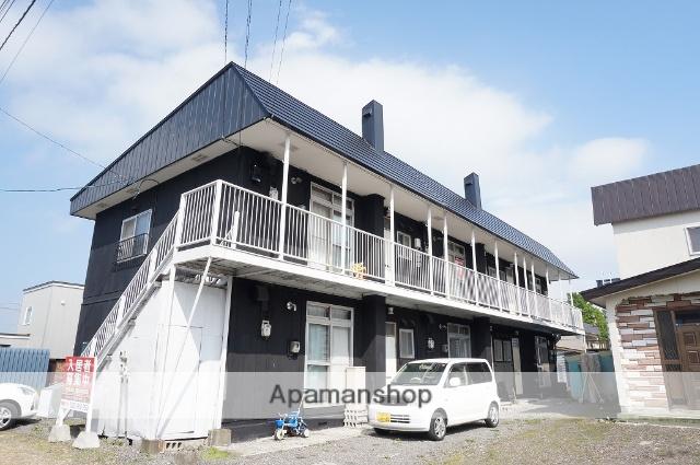 北海道恵庭市の築40年 2階建の賃貸アパート