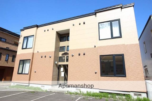 北海道恵庭市、恵み野駅徒歩8分の築11年 2階建の賃貸アパート