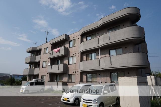 北海道恵庭市、恵庭駅徒歩15分の築16年 3階建の賃貸マンション