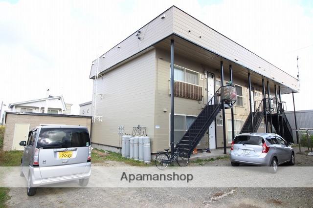 北海道恵庭市、恵庭駅徒歩11分の築30年 2階建の賃貸アパート