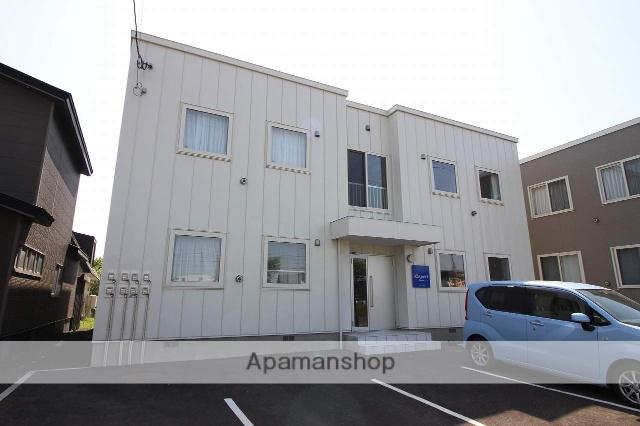 北海道恵庭市、恵庭駅徒歩19分の築2年 2階建の賃貸アパート