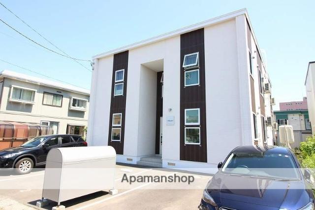 北海道恵庭市、恵庭駅徒歩9分の新築 2階建の賃貸アパート