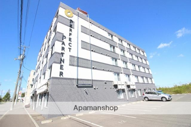 北海道恵庭市、恵み野駅徒歩3分の築1年 5階建の賃貸マンション