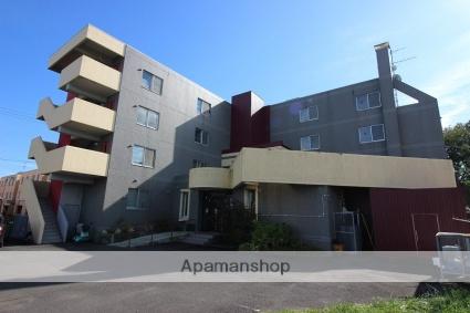 北海道恵庭市、恵み野駅徒歩11分の築27年 4階建の賃貸マンション
