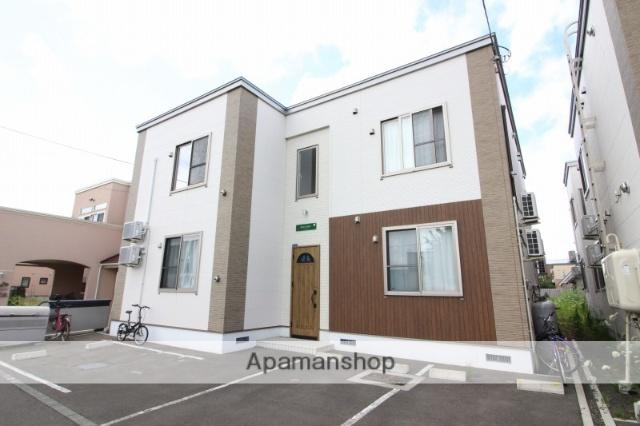 北海道恵庭市、恵庭駅徒歩8分の新築 2階建の賃貸アパート