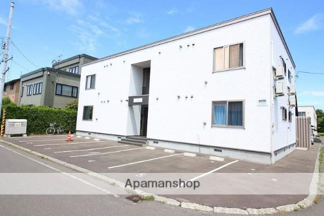 北海道恵庭市、恵庭駅徒歩10分の新築 2階建の賃貸アパート