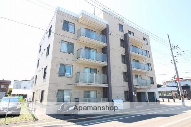 北海道恵庭市、恵庭駅徒歩2分の新築 5階建の賃貸マンション