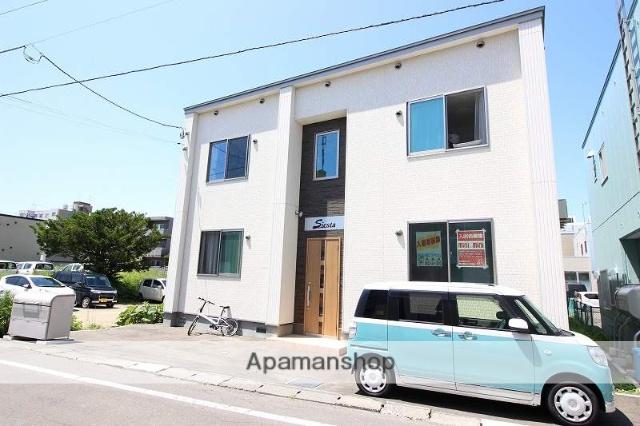 北海道恵庭市、恵庭駅徒歩12分の新築 2階建の賃貸アパート
