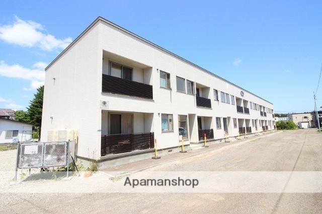 北海道恵庭市の新築 2階建の賃貸アパート