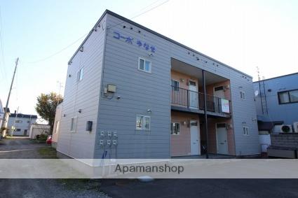 北海道恵庭市、恵庭駅徒歩11分の築28年 2階建の賃貸アパート
