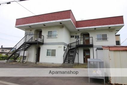 北海道恵庭市、恵み野駅徒歩15分の築43年 2階建の賃貸アパート
