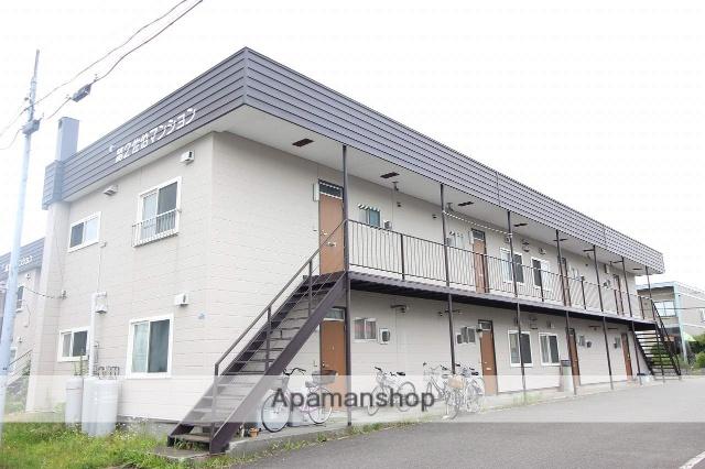 北海道恵庭市の築38年 2階建の賃貸アパート