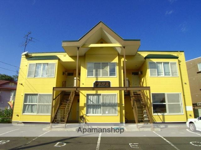 北海道恵庭市、恵み野駅徒歩15分の築26年 2階建の賃貸アパート