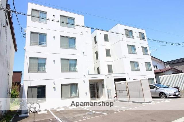 北海道恵庭市、恵庭駅徒歩7分の新築 4階建の賃貸マンション