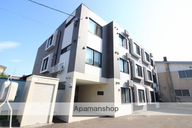 北海道恵庭市、恵庭駅徒歩13分の新築 3階建の賃貸マンション