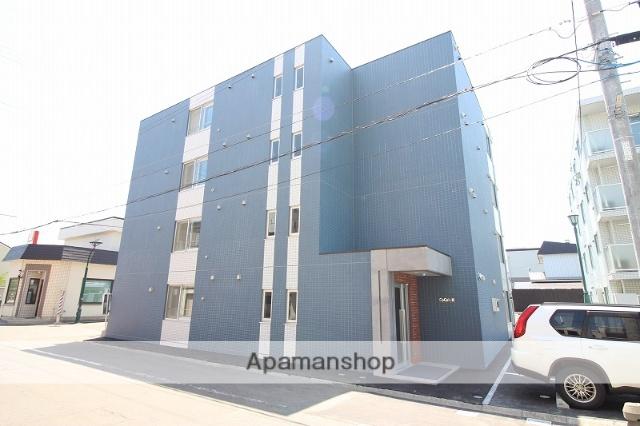 北海道恵庭市、恵庭駅徒歩10分の新築 4階建の賃貸マンション