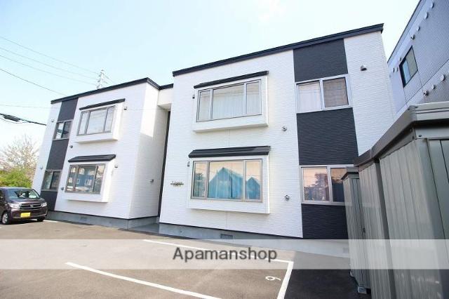北海道恵庭市、恵庭駅徒歩11分の新築 2階建の賃貸アパート