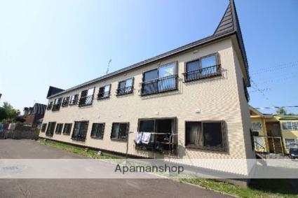 北海道恵庭市、恵み野駅徒歩12分の築16年 2階建の賃貸アパート