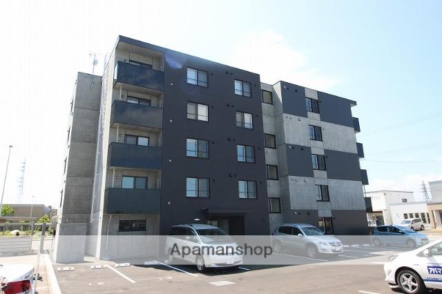 北海道恵庭市、恵み野駅徒歩3分の新築 5階建の賃貸マンション