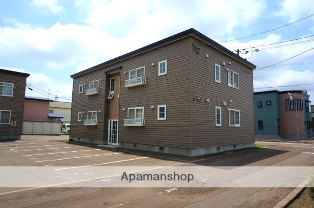 北海道恵庭市、恵庭駅徒歩12分の築19年 2階建の賃貸アパート