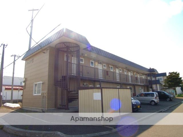 北海道恵庭市、恵庭駅徒歩16分の築22年 2階建の賃貸アパート