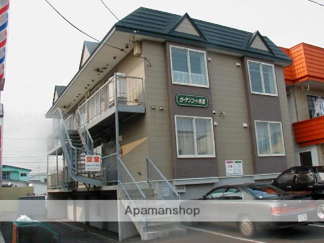 北海道苫小牧市の築19年 2階建の賃貸アパート