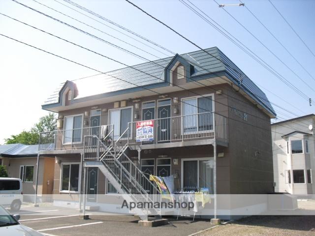 北海道苫小牧市の築16年 2階建の賃貸アパート