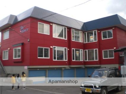 北海道苫小牧市の築24年 3階建の賃貸アパート