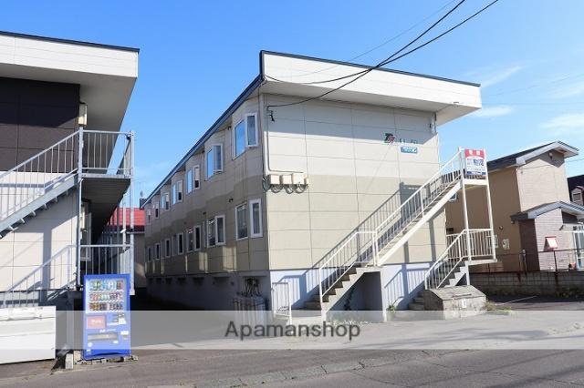北海道苫小牧市の築18年 2階建の賃貸アパート