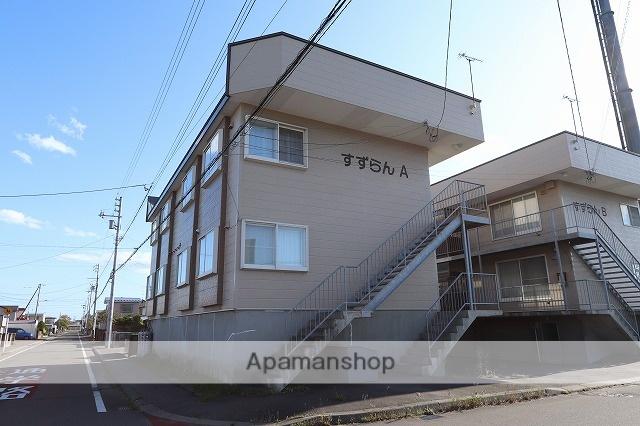 北海道苫小牧市の築20年 3階建の賃貸アパート