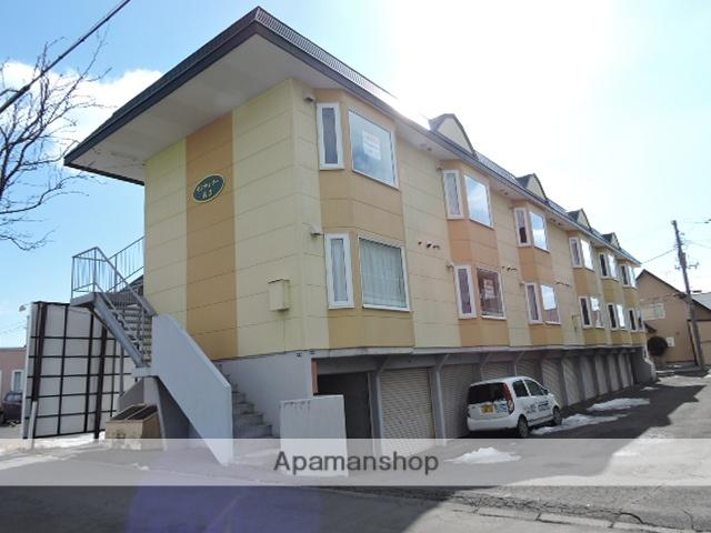 北海道苫小牧市の築20年 2階建の賃貸アパート