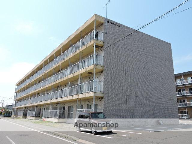 北海道苫小牧市、沼ノ端駅徒歩8分の築20年 4階建の賃貸マンション