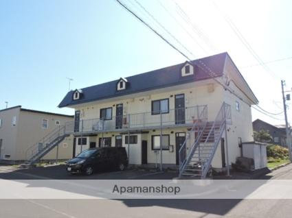 北海道苫小牧市、糸井駅徒歩15分の築17年 2階建の賃貸アパート
