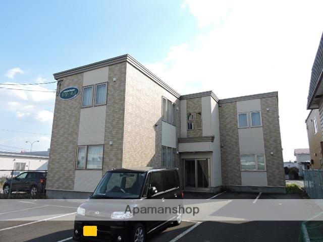 北海道苫小牧市の築11年 2階建の賃貸アパート