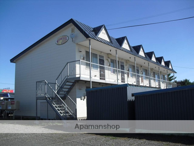 北海道苫小牧市の築26年 2階建の賃貸アパート