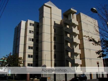 北海道苫小牧市、苫小牧駅徒歩5分の築26年 7階建の賃貸マンション