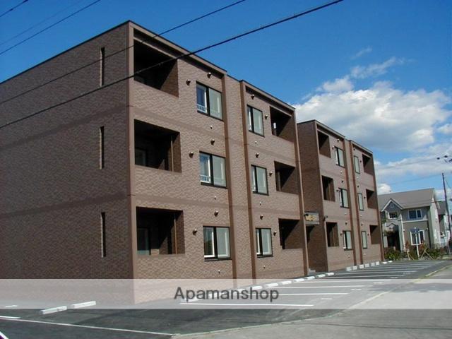北海道苫小牧市の築15年 3階建の賃貸マンション