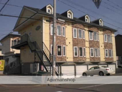 北海道苫小牧市の築19年 3階建の賃貸アパート