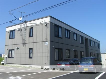 北海道苫小牧市、沼ノ端駅徒歩3分の築13年 2階建の賃貸アパート