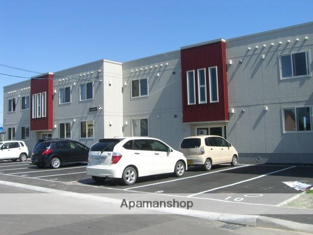 北海道苫小牧市の築9年 2階建の賃貸アパート
