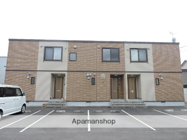 北海道苫小牧市の築10年 2階建の賃貸テラスハウス