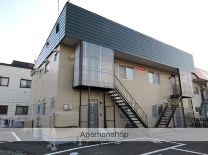 北海道苫小牧市の築36年 2階建の賃貸アパート