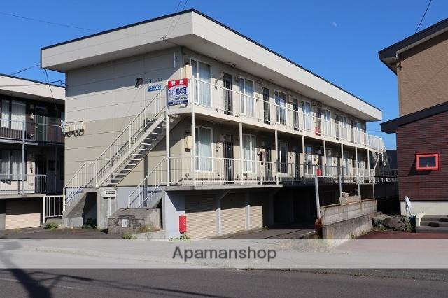 北海道苫小牧市の築17年 2階建の賃貸アパート