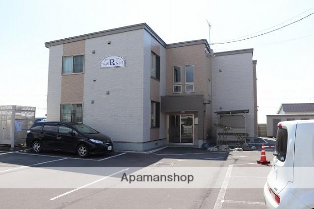 北海道苫小牧市の築4年 2階建の賃貸アパート