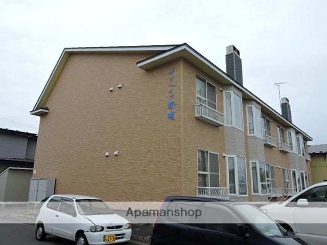 北海道苫小牧市の築27年 2階建の賃貸アパート